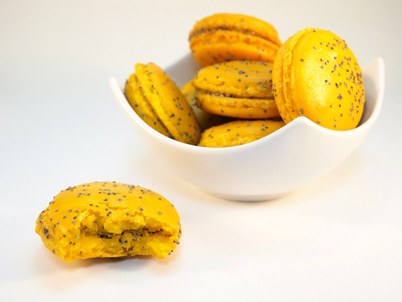 macarons citron pavot